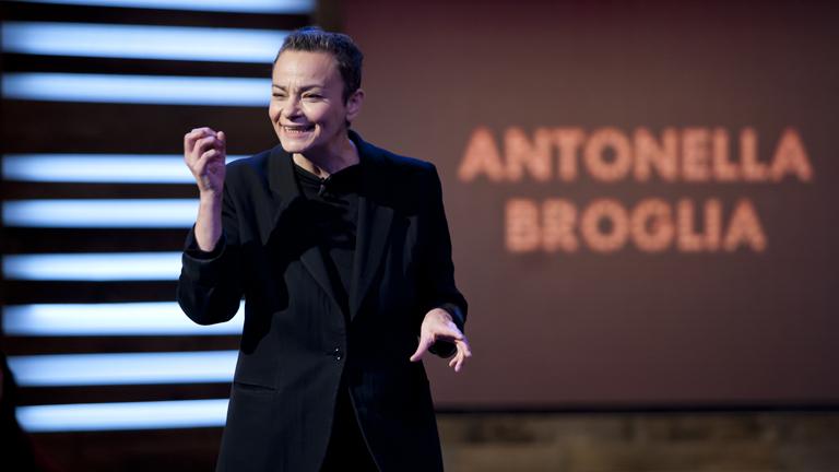 Conferencia online de Antonella Broglia, Embajadora de TED para Europa