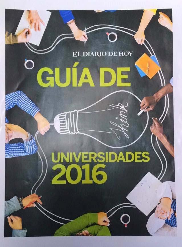 """FUNIBER aparece en la """"Guía de Universidades 2016"""" de El Salvador"""