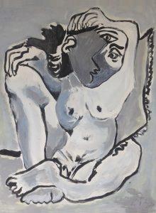 Inauguración de la exposición de Picasso en la Universidad Europea del Atlántico en Santander (España)
