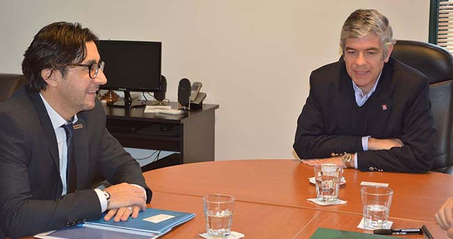 FUNIBER se reúne con la Universidad Católica de Salta (Argentina)