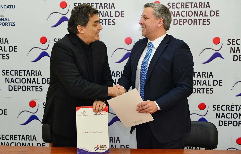 FUNIBER y la Secretaria Nacional de Deportes de Paraguay firman convenio de colaboración