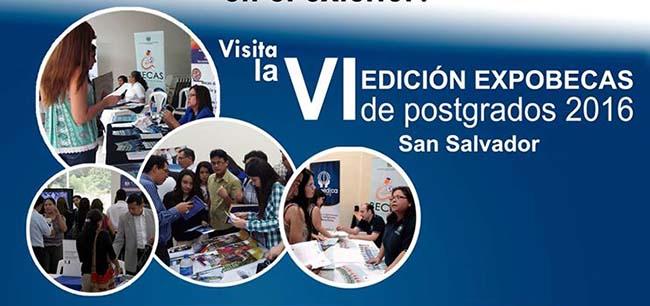 FUNIBER participa en la VI Expo Becas de Postgrados 2016 en El Salvador