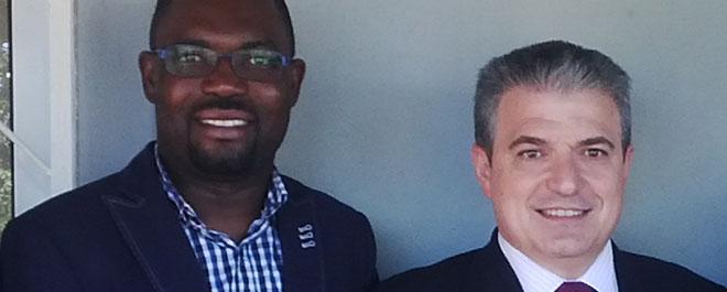 Director de FUNIBER Angola visita la sede de la Fundación en Mozambique