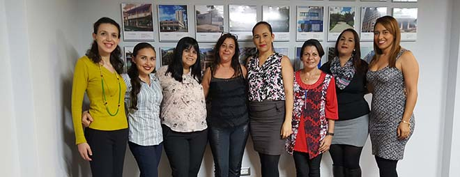 Personal de admisiones de FUNIBER en Costa Rica en constante formación