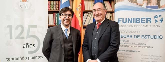 FUNIBER firma un convenio de formación con la Cámara Oficial Española de Comercio, Industria y Navegación de Uruguay