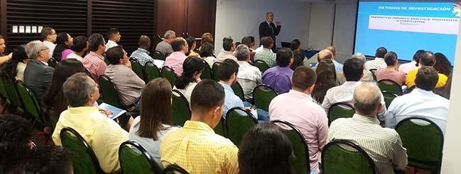 Concluye con éxito el ciclo de conferencias de Antonio Pantoja en Colombia