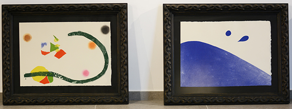 """""""El Canto del Sol"""" de Joan Miró en Santillana del Mar (España)"""