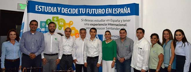 FUNIBER entrega Beca a estudiante de México para estudiar en UNEATLANTICO (España)