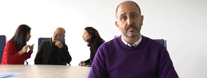 Juan Luis Martín entrevistado por el Ayuntamiento de Bilbao (España)