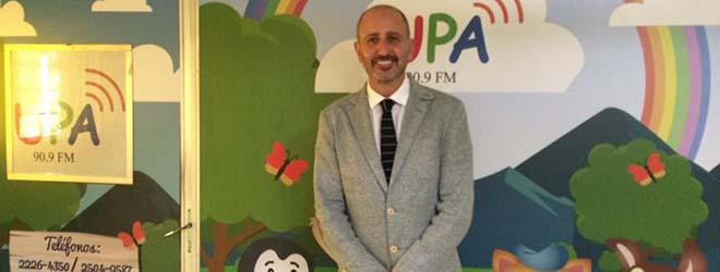 Juan Luis Martín habla sobre el acoso escolar en Radio UPA en El Salvador