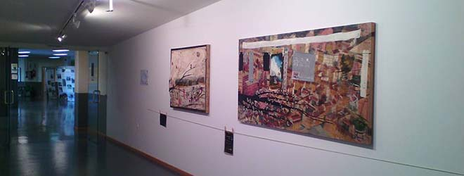 """Inaugurada la exposición """"Colores en mis bolsillos"""" de Anna Tamayo en Ponferrada (España)"""