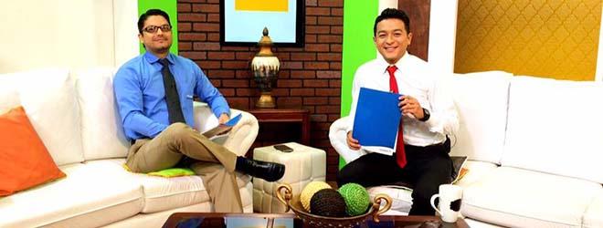 Entrevista a FUNIBER en el Canal 10 de la Televisión Nacional de El Salvador