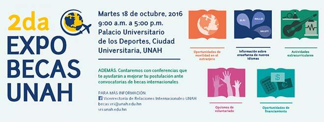 FUNIBER participa en Honduras en la II Expo Feria Becas UNAH 2016