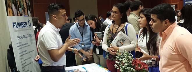 MBA patrocinado por FUNIBER recibido con gran interés en la Feria QS World MBA Tour en Panamá
