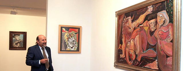 Exposición de Picasso en el Centro Cultural de España en Guatemala