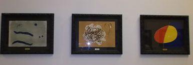 Exposición de pintura: Joan Miró «El cántico del Sol y Las Maravillas Acrósticas»