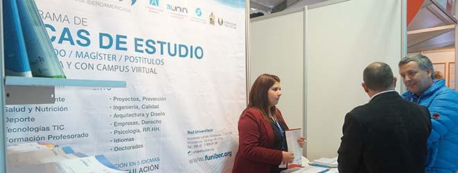 Programa de Becas FUNIBER presentado en la Feria de acuicultura más importante de Latinoamérica