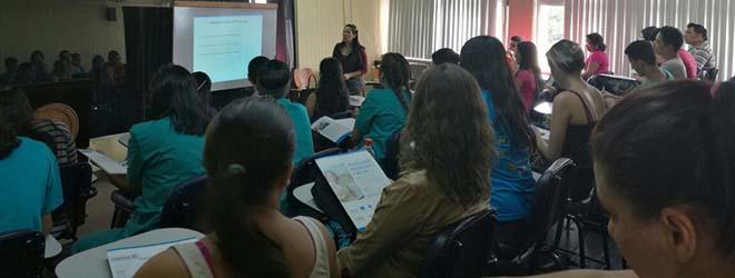 Programa de Becas FUNIBER presentado ante alumnos de Psicología de la UNAH