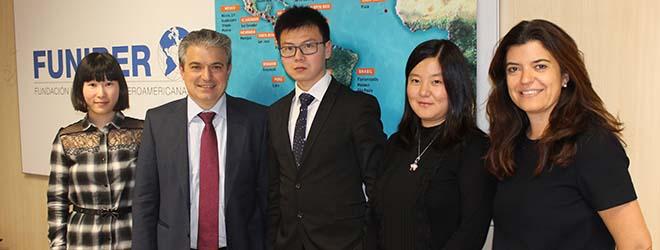 FUNIBER fomenta la enseñanza de español entre la población china
