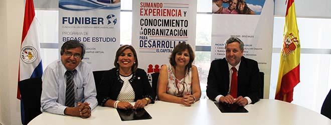 FUNIBER firma convenio de colaboración con la Asociación Paraguaya de Recursos Humanos