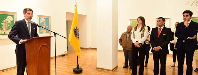 Inaugurada en Lima (Perú) exposición de Dalí