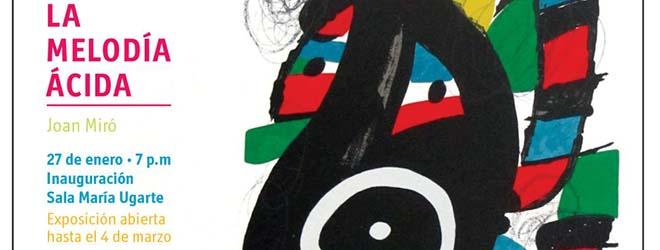 Inauguración exposición de Miró en República Dominicana