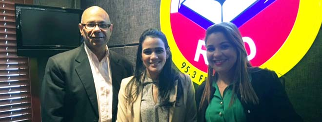 """Directora de FUNIBER República Dominicana entrevistada en el programa de radio """"Revista Matinal"""""""
