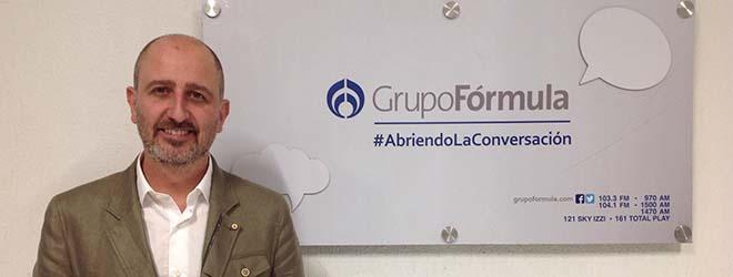 Juan Luis Martín entrevistado en Radio Fórmula acerca del acoso escolar