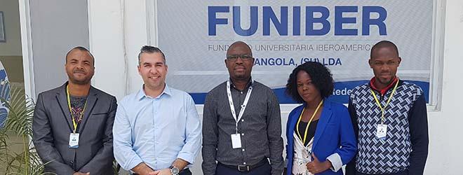 La sede de FUNIBER en Angola se traslada de ubicación