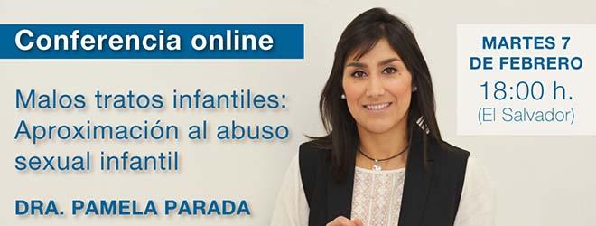 Conferencia online de Pamela Parada acerca del maltrato infantil
