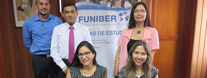 FUNIBER se reúne con representantes del Centro Cultural de la Universidad de Lima (Perú)