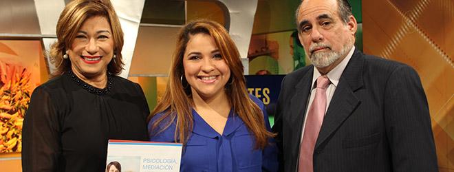"Directora de FUNIBER en República Dominicana entrevistada en el espacio ""Cita Cultural"" del Canal 4 RD"