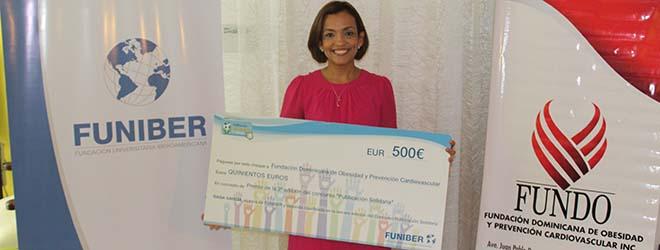 FUNIBER entrega el premio de la III edición del concurso Publicación Solidaria de FUNIBER a FUNDO