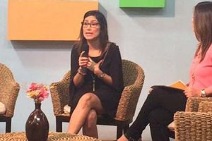 """Pamela Parada entrevistada en El Salvador en el programa """"Tu Mañana"""""""