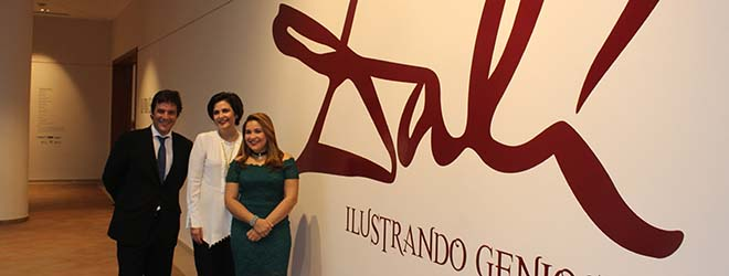 Inaugurada con éxito exposición de Dalí en el Centro León (República Dominicana)