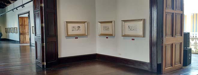 Acto de Clausura de la muestra de Picasso en Trujillo (Perú)
