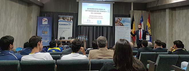 Éxito de asistencia al Ciclo de charlas de Antonio Bores en Chile