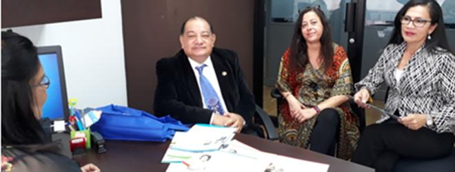 Banco Nacional de Panamá estudia programas formativos de FUNIBER