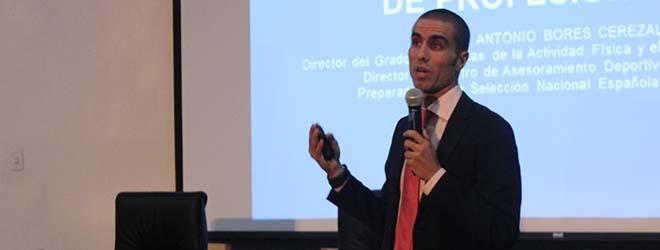Antonio Bores imparte en Chile ciclo de seminarios sobre alto rendimiento deportivo