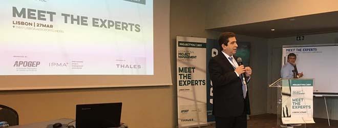 Profesor de la red universitaria en la que colabora FUNIBER participa en eventos de IPMA en Lisboa (Portugal)