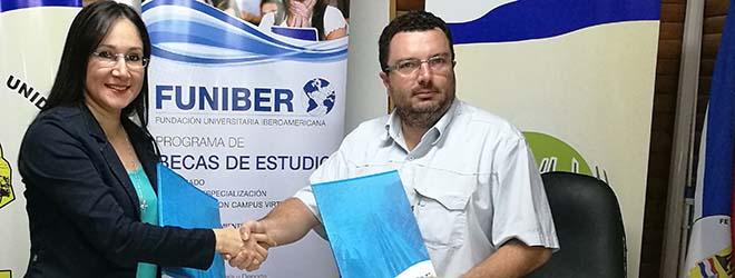 FUNIBER firma Convenio con la Municipalidad de Filadelfia (Paraguay)