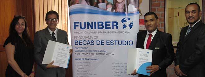 FUNIBER y FUNDECEP firman convenio de colaboración científica y tecnológica