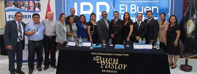 FUNIBER firma convenio de colaboración con el Instituto Buen Pastor