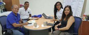 FUNIBER conviene acciones con el Instituto Panamericano de Educación Física de la Universidad de Panamá