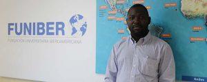 El delegado de FUNIBER en Guinea Ecuatorial visita la sede de la Fundación en España