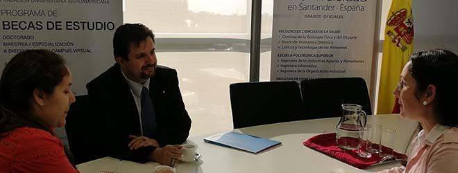 FUNIBER se reúne con la Asociación Paraguaya de Graduados en Nutrición