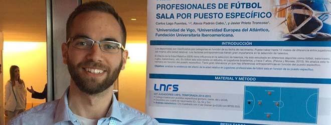 La exposición del tutor de FUNIBER despertó gran interés en el 13º Congreso Internacional de Ciencias del Deporte y la Salud