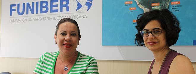 Directora del IPSD de Honduras visita la sede de FUNIBER en España