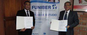 FUNIBER y EIGER firman convenio de colaboración