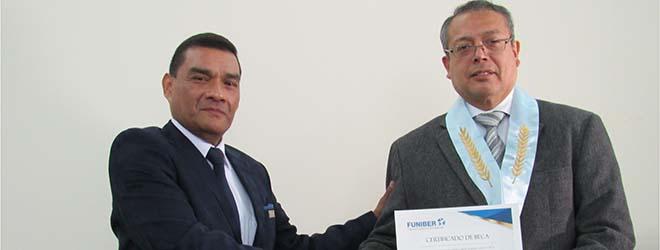 FUNIBER firma convenio de colaboración con el Colegio de Abogados de Lima (Perú)